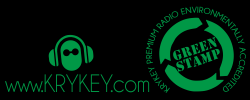 environmentally accredited only 6kgs CO2/year - KryKey Premium Green Radio